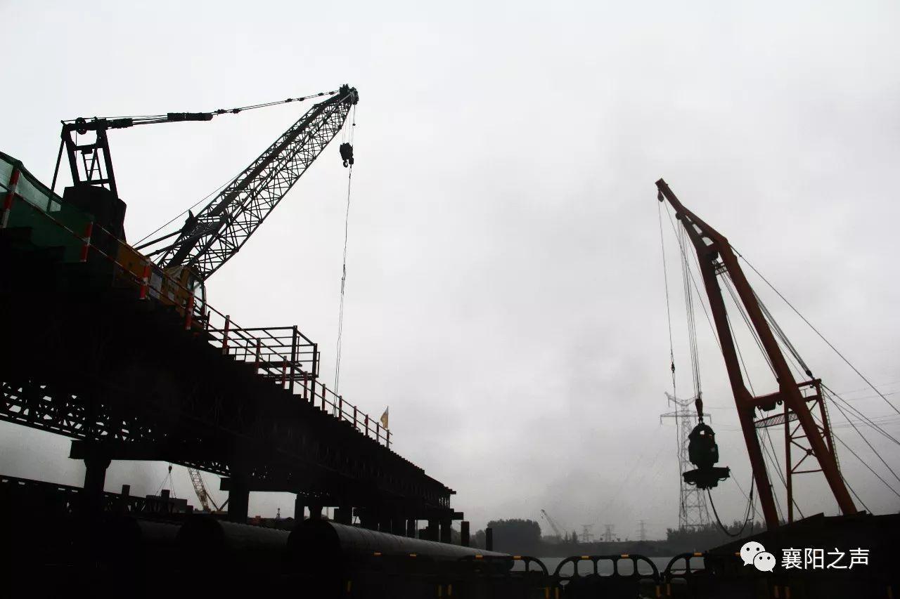 汉江又一特大桥开建 被列为襄阳市政府的十大惠民工程之一
