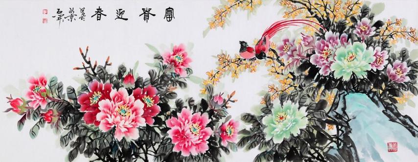 国画名家石开:近年来颇受艺术圈关注的实力派画家