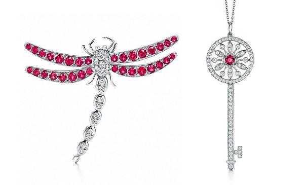 蒂芙尼停用缅甸宝石后首次推出红宝石珠宝:Rubies Collection