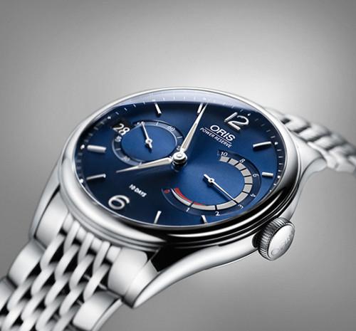 豪利时推出全新艺术家111自主机芯腕表蓝盘版