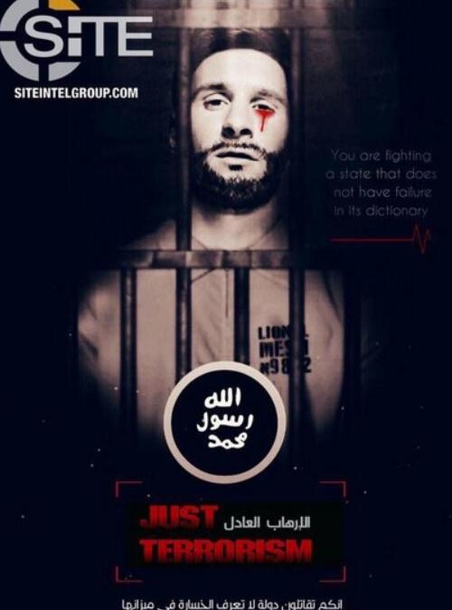 ISIS恐怖组织宣战梅西 梅西正成为新目标