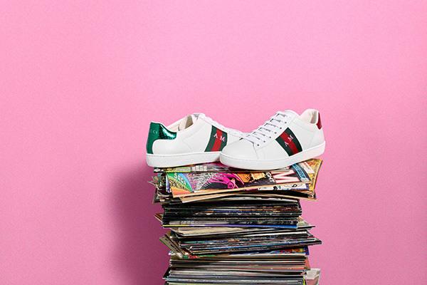 德立莎携手Gucci推出全新线上DIY运动鞋定制服务