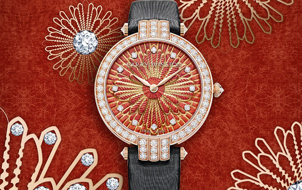 海瑞温斯顿推出全新Delicate Silk限量版腕表