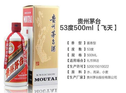 贵州茅台多少钱一瓶?