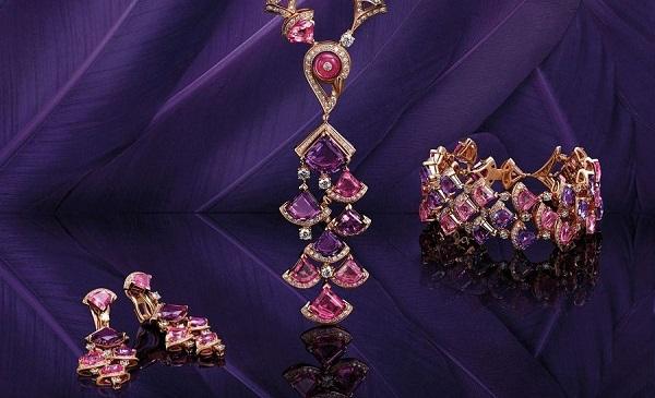 宝格丽珠宝Divas'Dream系列新作 扇形孔雀图腾再现古罗马风情