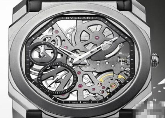 宝格丽推出全新Octo Finissimo超薄超轻腕表
