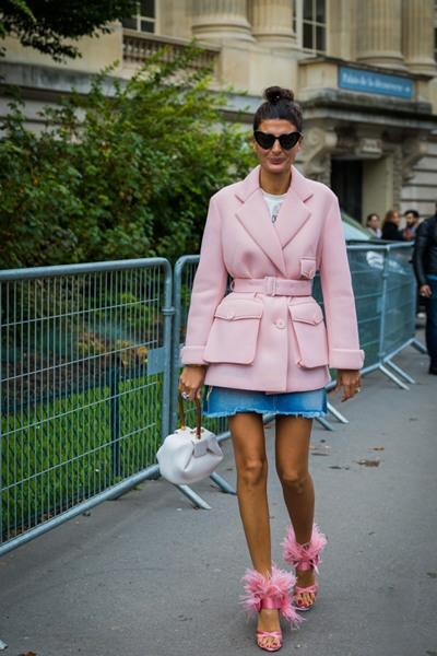 冬季穿衣搭配造型示范 学会扬长避短让你时髦度飙升