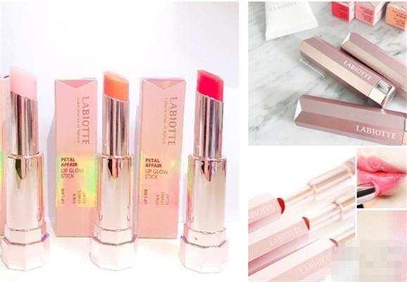 打造自然妆感 LABIOTTE化妆品品牌发布全新三色润唇膏