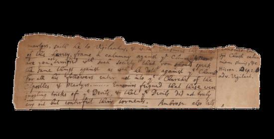 牛顿手稿现身伍伦秋拍 八十一年前曾在苏富比拍卖