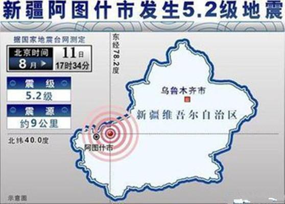 新疆发生5.2级左右地震 发生地震时保险该怎么理赔