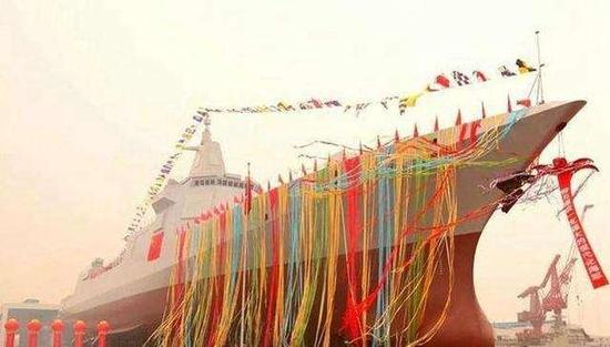 16艘军舰同港排建 中国海军的发展颠覆了所有国家的预测
