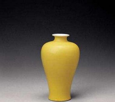 御窑黄釉瓷器的价值被低估