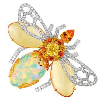 落入人间的彩虹:欧泊宝石 纯天然奇幻调色板造就瑰丽美景