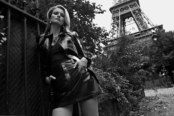 超模Edita Vilkeviciute为《The Edit》杂志拍摄大片