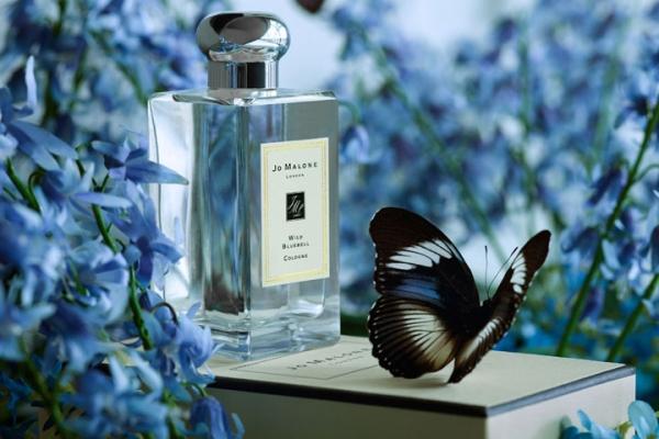 Jo Malone化妆品品牌推出全新限量彩蝶包装香氛