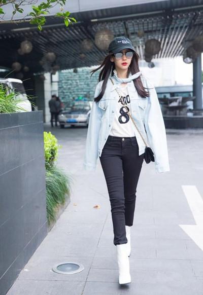 冬季服装流行趋势 夹克+紧身裤保暖显瘦最佳套路