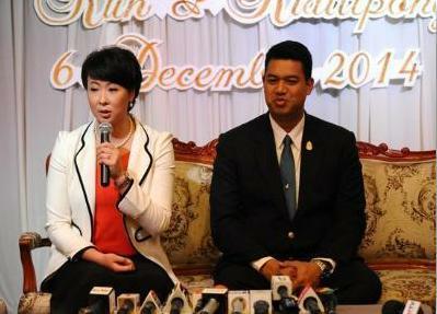 郎平姐妹与大12岁泰国人结婚 郎平:得冯坤者得天下!