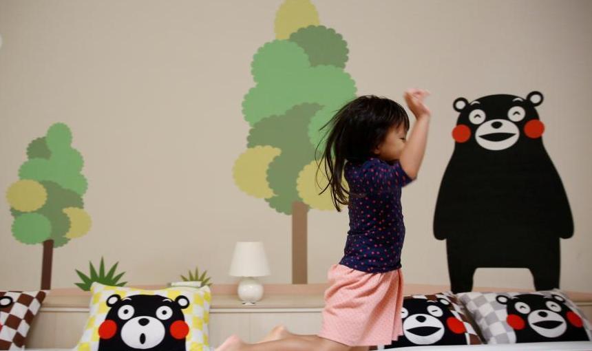 日本馒头度假屋 抗震性强造型萌
