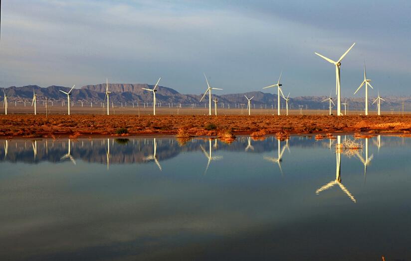 """中国正式步入了打造""""风电三峡""""工程阶段"""