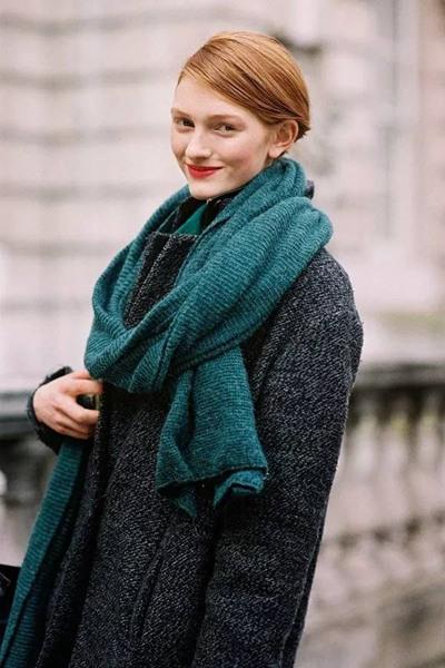 冬天穿衣搭配造型示范 大衣让你轻松凹出时髦造型