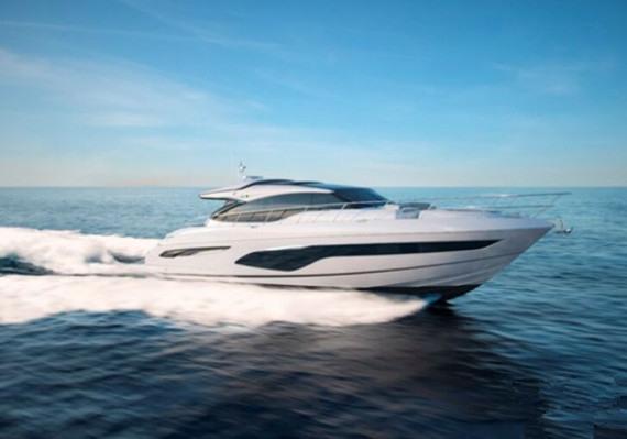 公主制造商推出V Class系列新型V65运动型游艇