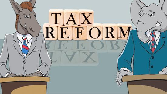 美国众议院主席对税改法案进行大幅度修订 拟下周进行表决