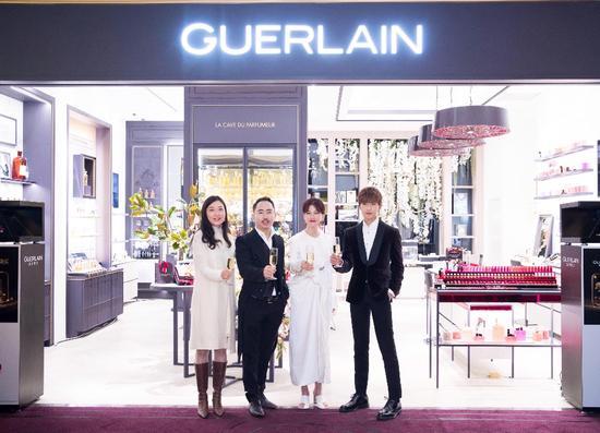 法国娇兰携手杨洋于上海隆重揭幕亚洲首家新概念精品店