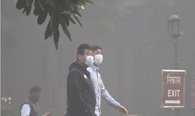 印度污染指数一度破千 等于一天抽50支烟