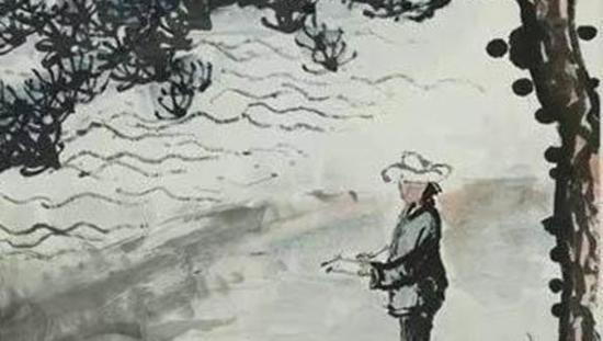 画家刘海粟一家的绘画精神