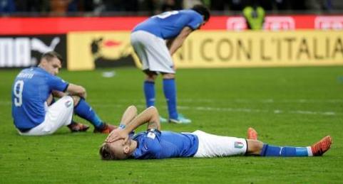 意大利60年来首度无缘世界杯