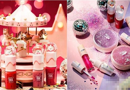 PERIPERA化妆品品牌推出全新圣诞系列彩妆