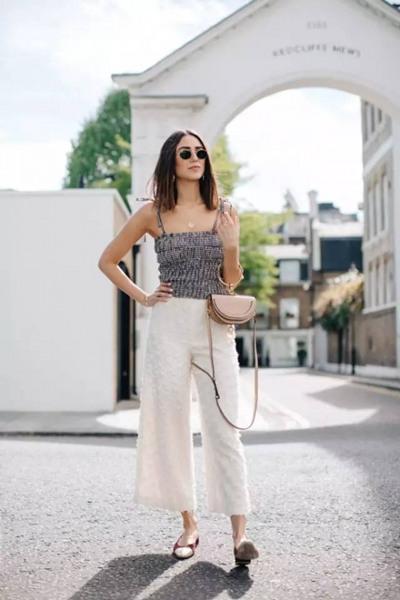 秋季服装流行趋势示范 阔腿裤值得你一穿再穿