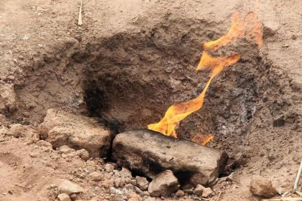 重庆长寿天然气作祟 冒火50年烧水和煮饭