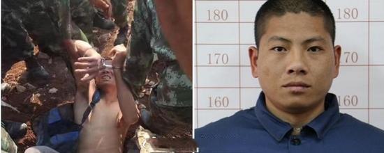云南越狱逃犯受审 张林苍称自己杀了一名警察
