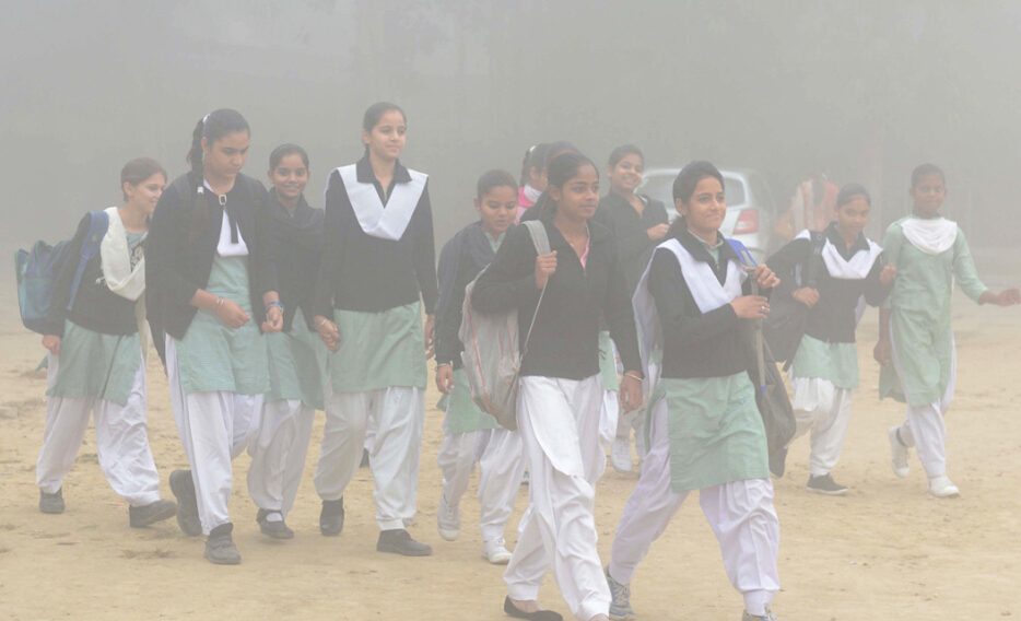印度PM2.5飙升至1000