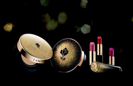 Lancome推出全新黑金璀璨圣诞限量版彩妆系列