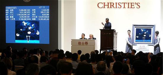 中国书画部将于28日在香港佳士得举行两场拍卖会