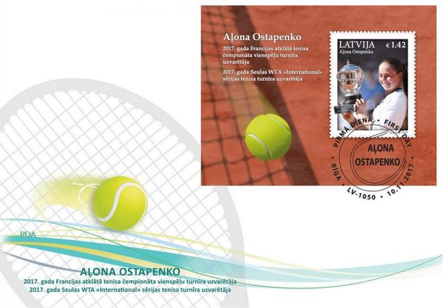 WTA球星主题邮票纪念币发行