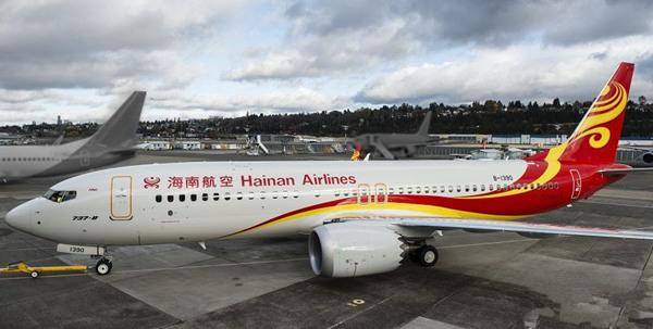 第40架! 波音向海航交付首架737MAX私人飞机