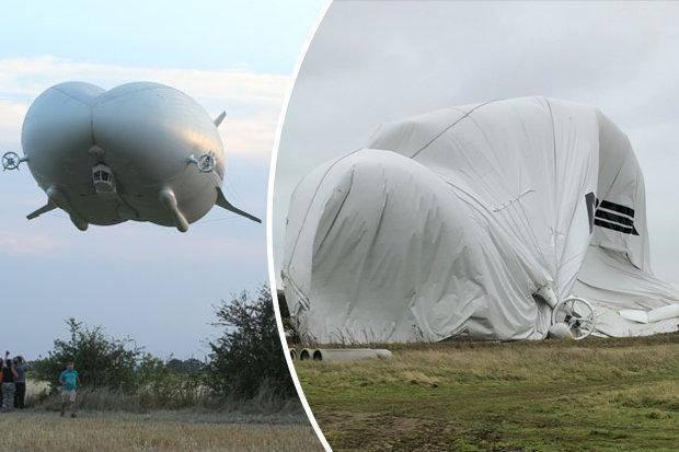 世界最大飞行器坠机 这家伙到底有多大?