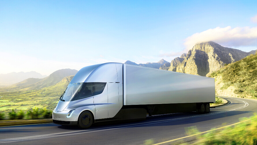 特斯拉发布电动卡车