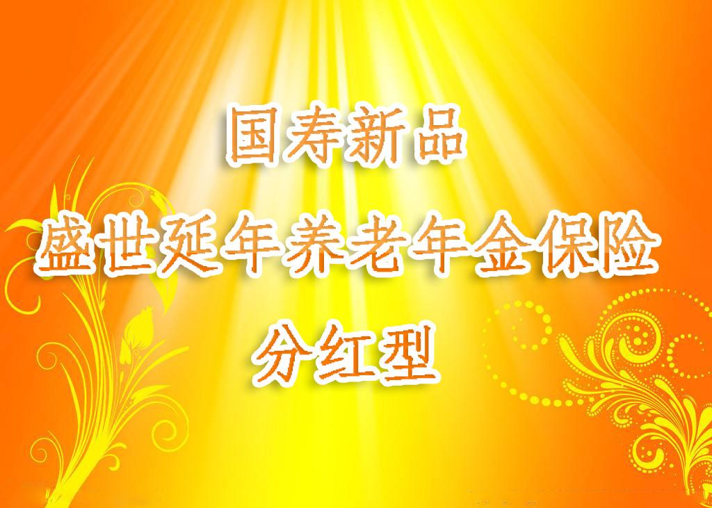 中国人寿新品盛世延年养老保险怎么样?