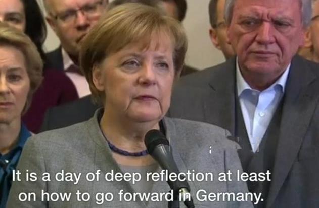 德国政坛突现变局 默克尔无法组建新一届政府