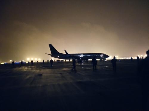 空中惊魂21分钟 151名乘客全部安全疏散