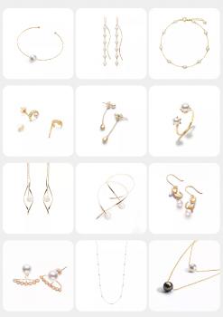 小圆高领毛衣+CIRCLE珍珠珠宝 完美展现秋冬最IN职场时髦经
