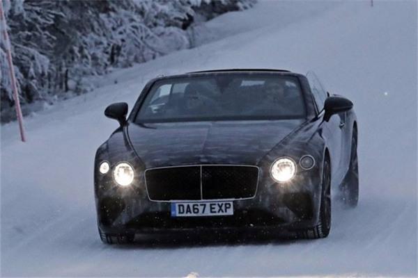 宾利全新欧陆GT系列将推敞篷版本 日内瓦车展正式亮相
