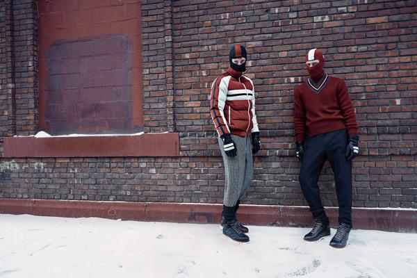 杰尼亚推出2017秋冬系列服饰 邀你释放滑雪摩登新魅力