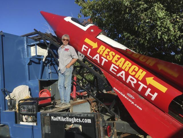 花13万自造火箭 打算亲自乘火箭上太空去证实自己的理论