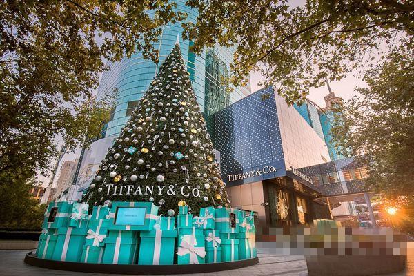 蒂芙尼于上海香港广场致开启爱深情冬日梦幻旅途