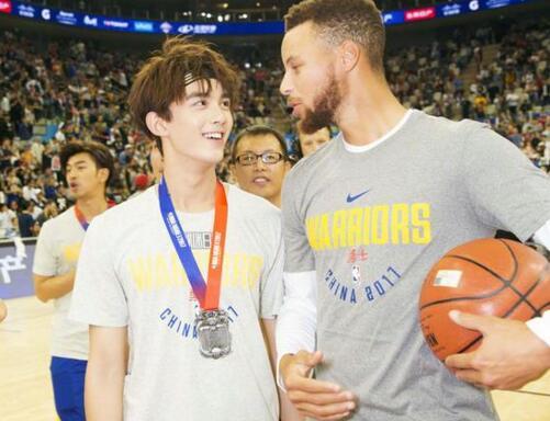 吴磊出任篮球大使 NBA官方微博已认证!